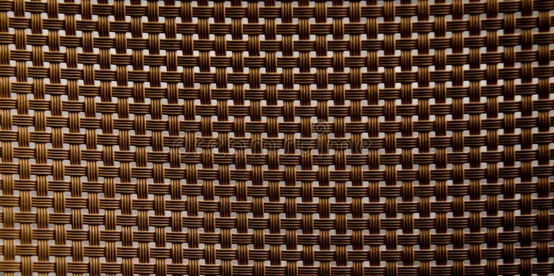 Bruine vlecht royalty-vrije stock afbeelding