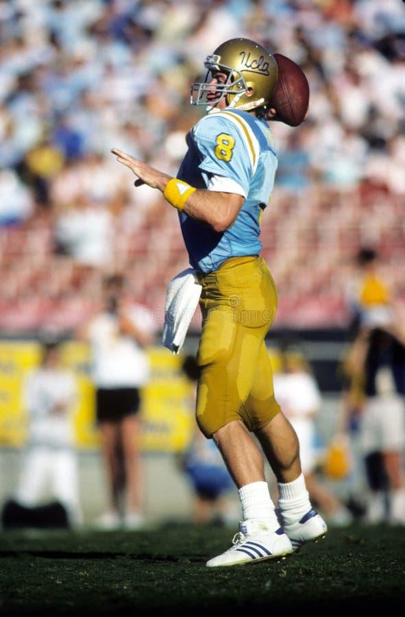 Bruins de Troy Aikman UCLA imagem de stock royalty free