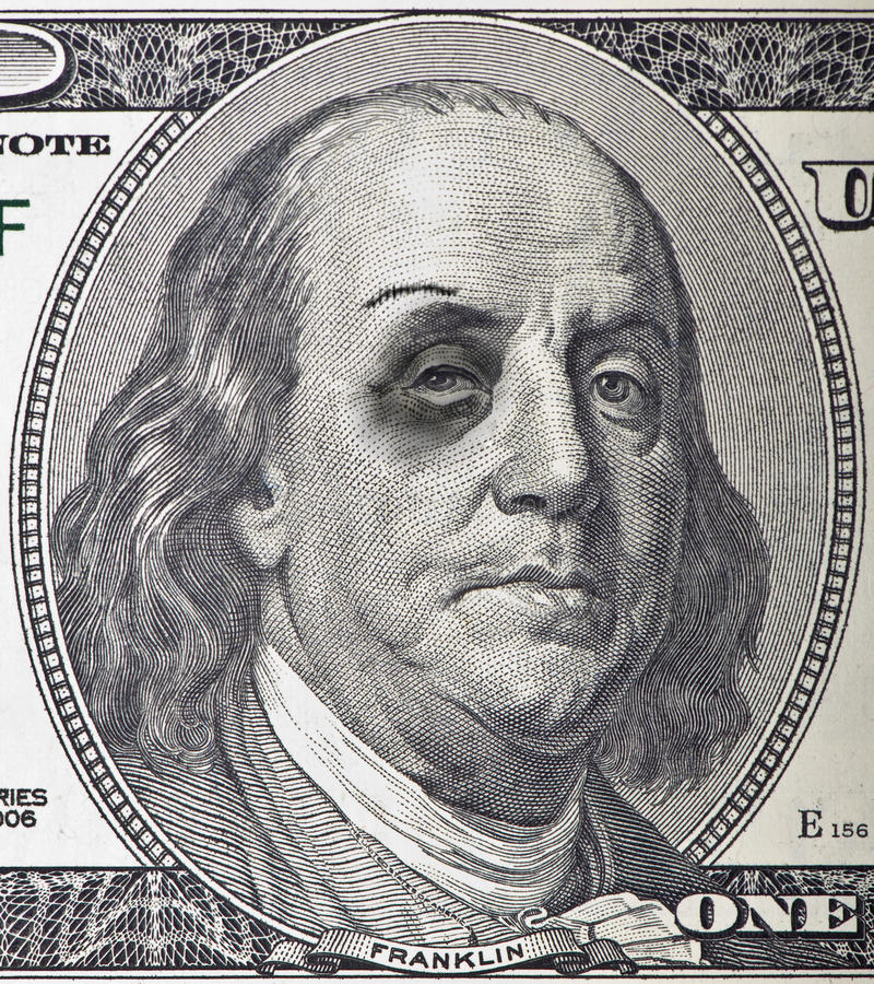 Download Bruised Ben stock photo. Image of dollar, benjamin, beat - 20714830