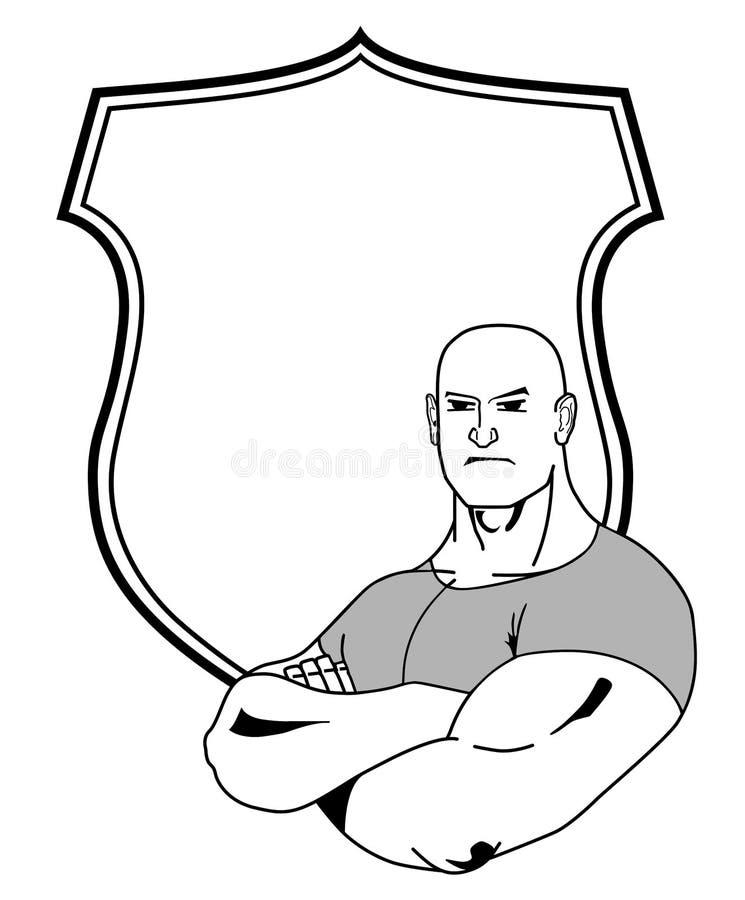Bruiser vector illustratie