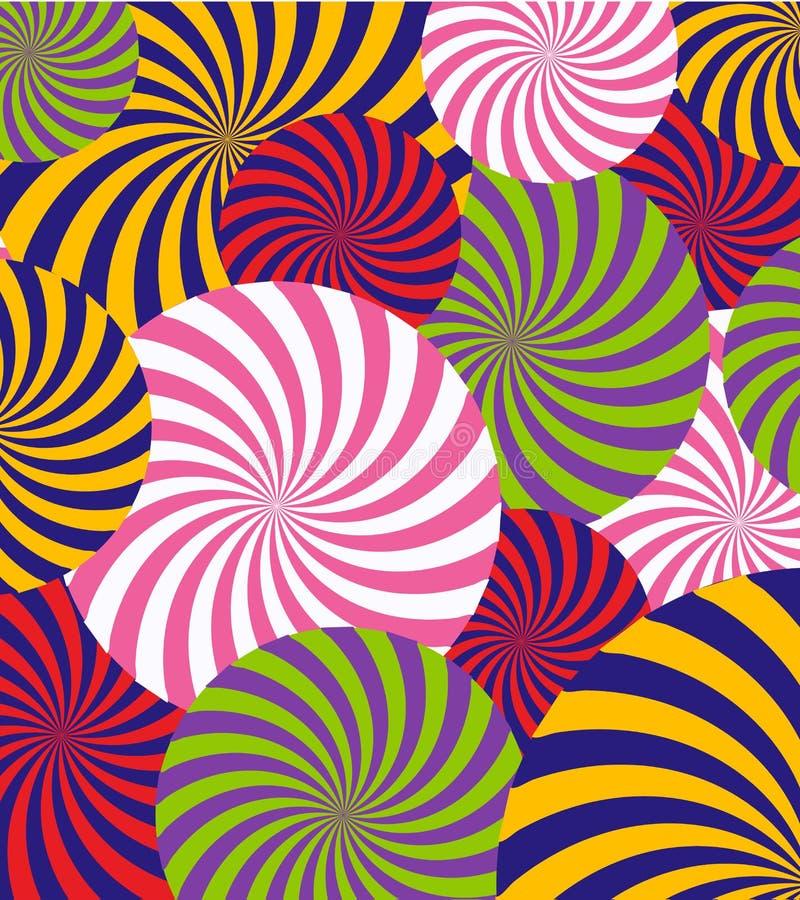 Bruit Art Abstract Pattern Background Illustration de vecteur illustration libre de droits