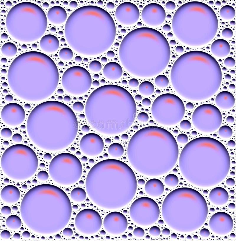 Bruit de bicarbonate de soude illustration stock