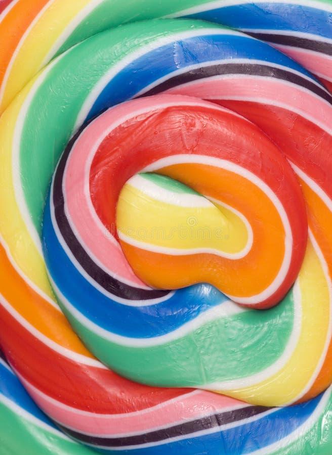 Bruit de sucette de sucrerie images stock