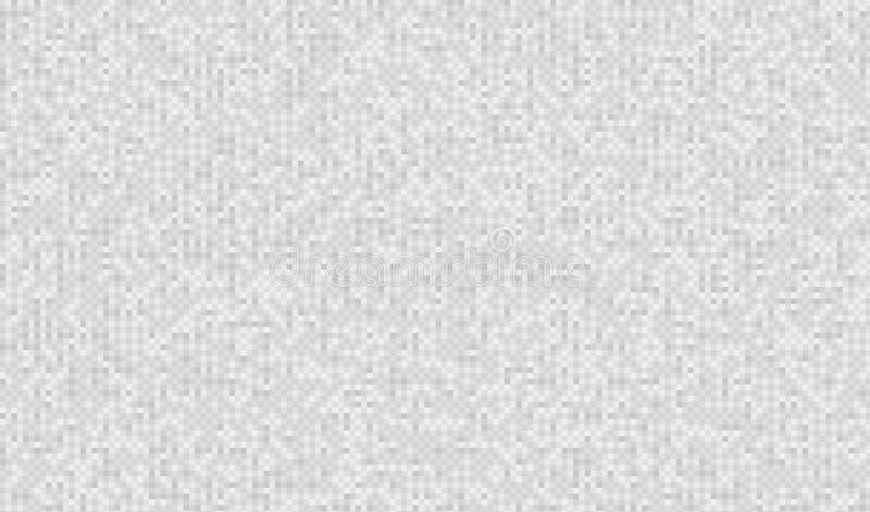 Bruit gris neutre de pixel Fond de Digital VHS d'écran de l'essai TV Vidéo d'ordinateur d'erreurs Texture de problème pour le jeu illustration libre de droits