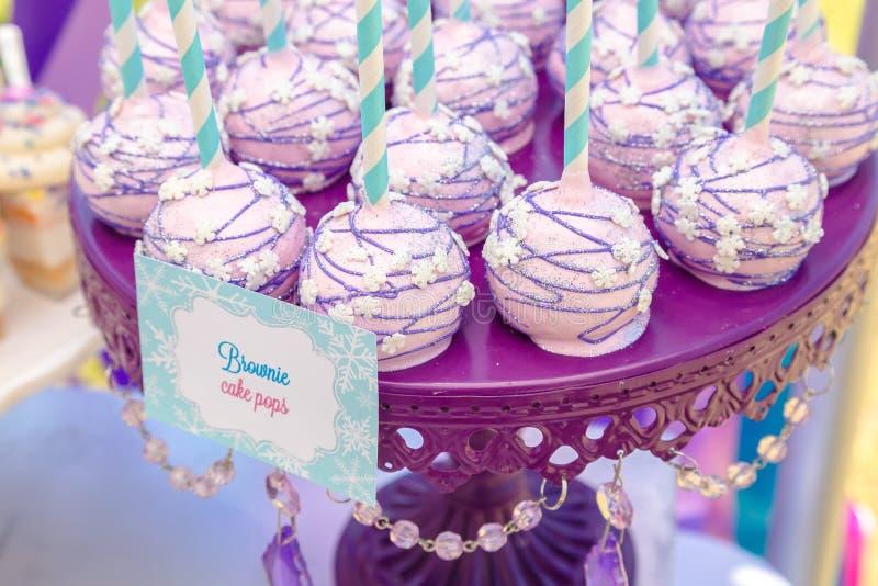 Bruits de gâteau photo stock