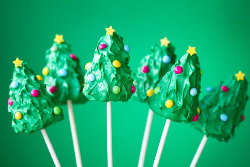 Bruits de gâteau de Noël photos libres de droits