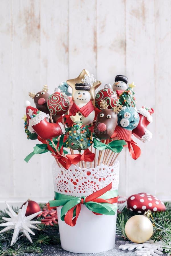 Bruits doux de gâteau de Noël photo libre de droits
