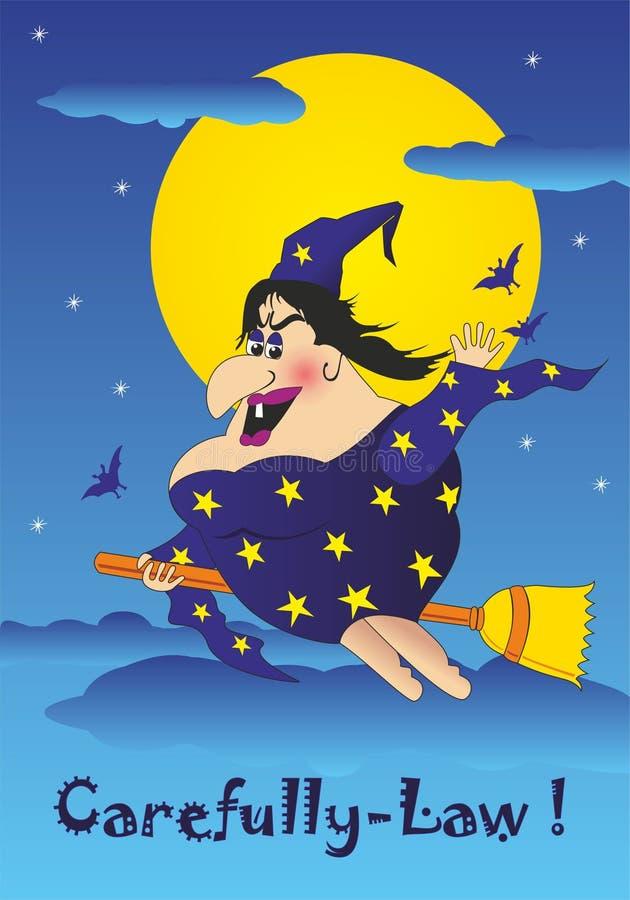 Download Bruja stock de ilustración. Ilustración de misterio, asustadizo - 41917612