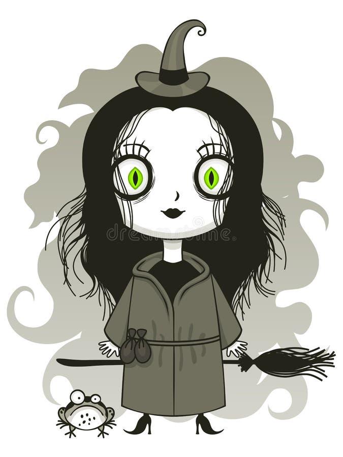 Bruja linda libre illustration