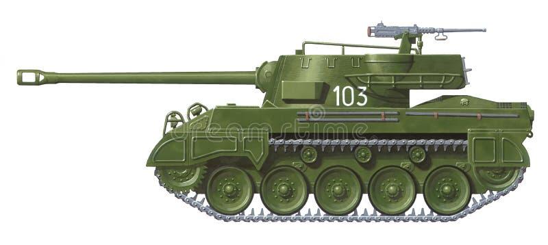 Bruja M-18 ilustración del vector
