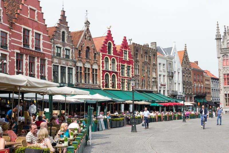 Brujas Bélgica foto de archivo