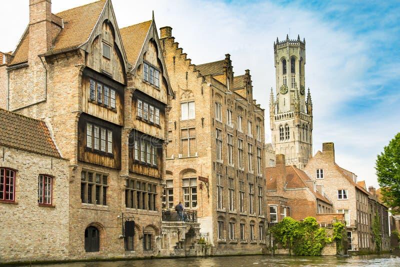 Brujas/Brugges, Bélgica fotografía de archivo libre de regalías