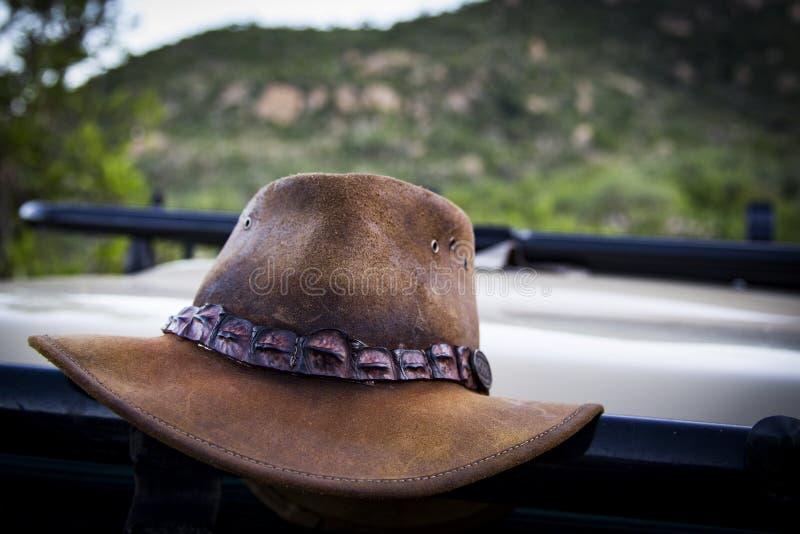 bruk för ritt för häst för cowboyhatt arkivbilder