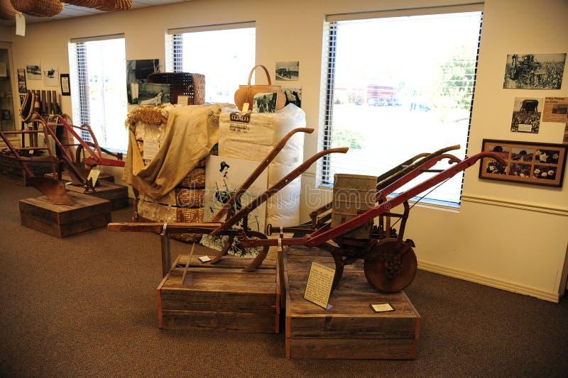 Bruka utställningen på den västra Tennessee Delta Heritage Center arkivbilder