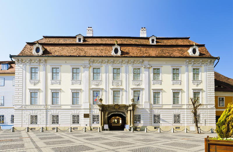 brukenthal παλάτι Sibiu στοκ εικόνες