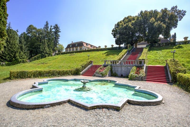 Brukenthal gardens, Romania royalty free stock photos