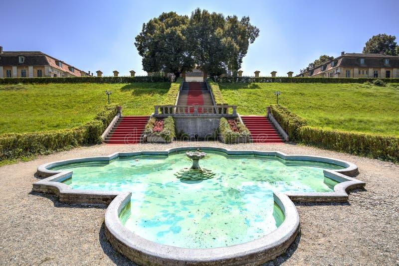 Brukenthal gardens, Romania royalty free stock image