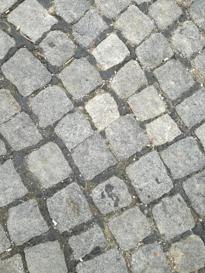 Brukowiec ulica obrazy stock