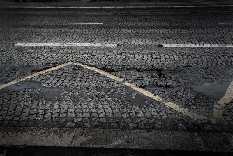 Brukowiec ulica obraz stock