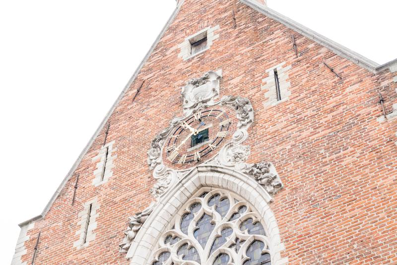Bruksela/Belgium-01 02 19: Maryjnego Magdalene kościół w Bruksela obraz royalty free