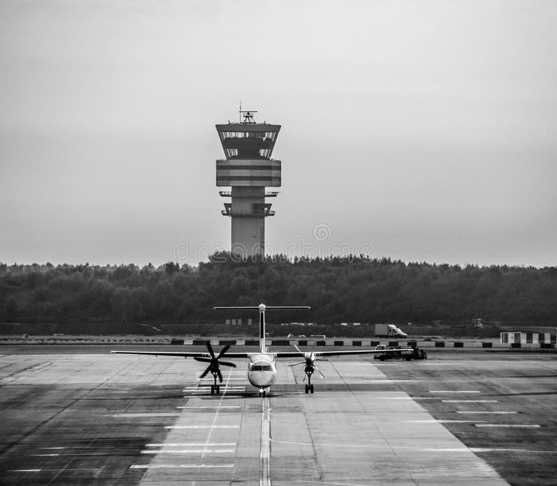 Brukselski Zaventem lotnisko: Wszystkie systemy Iść fotografia royalty free