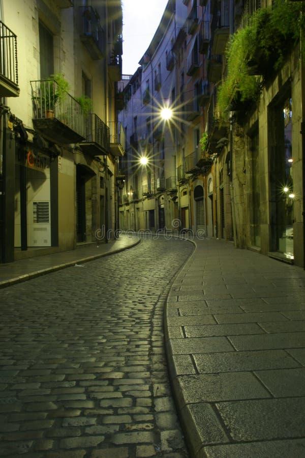 brukująca street fotografia stock