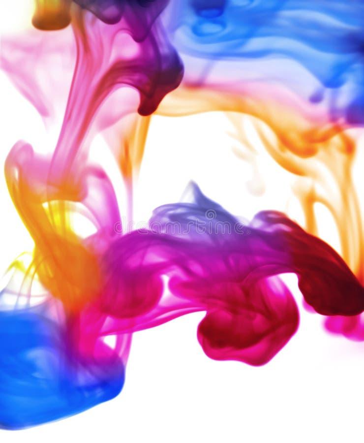 Brume de Technicolour image libre de droits