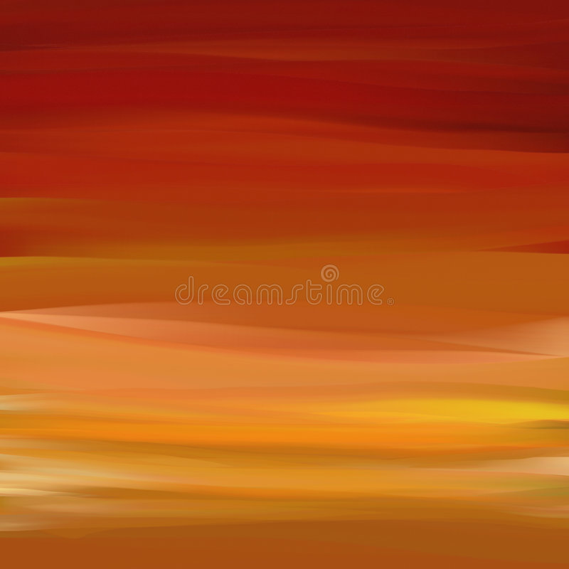 Brume rouge illustration stock