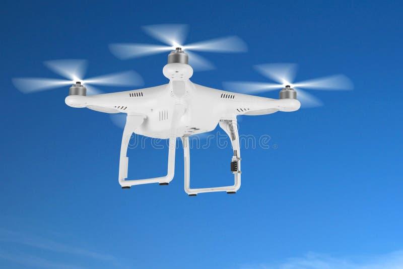 Brummen, quadrocopter lizenzfreie stockfotografie