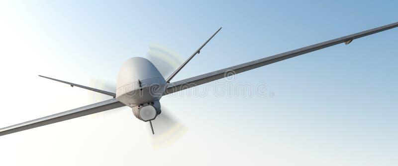Brummen UAV lizenzfreie abbildung