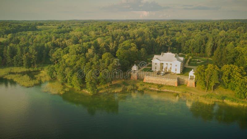 Brummenphotographie von Uzutrakis-Landsitz stockfoto