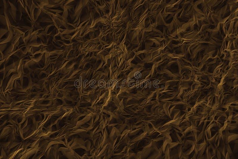 brun abstrait de fond illustration de vecteur