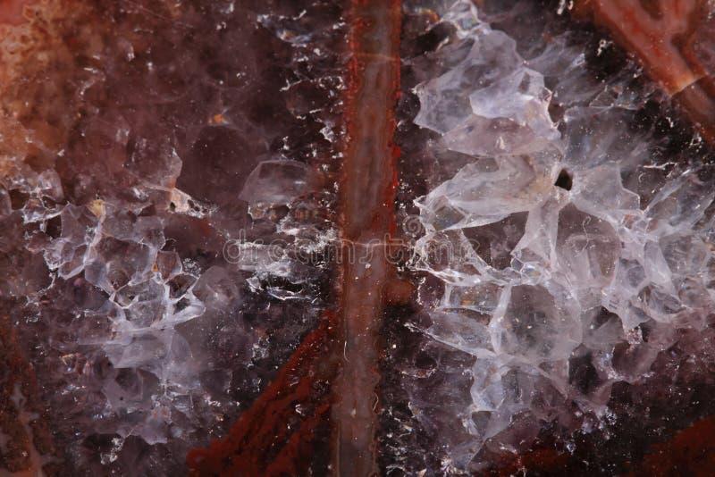 Brun agattextur royaltyfri bild