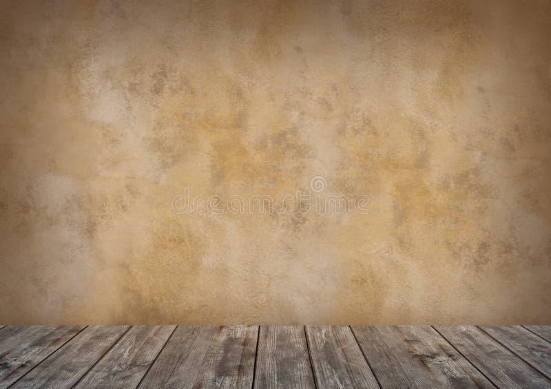 Brun bakgrund f?r fotostudion, bakgrund, tapet arkivfoton