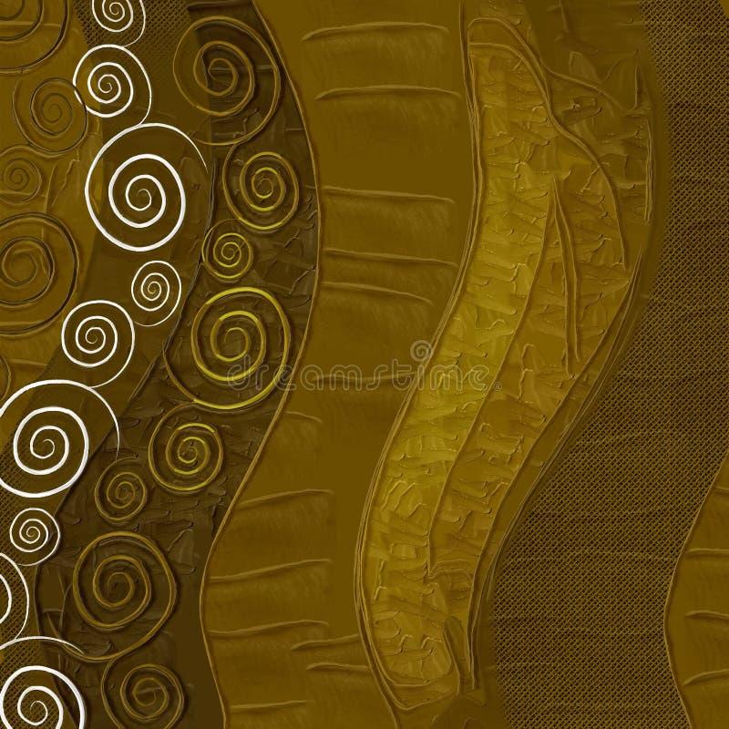 brun de fond texturisé illustration de vecteur