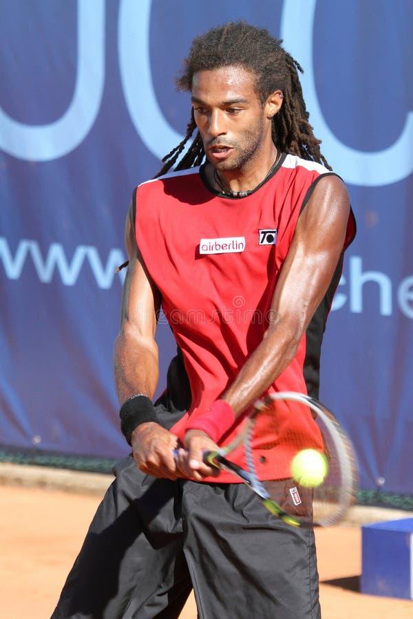 BRUN du joueur de tennis DUSTIN photo stock