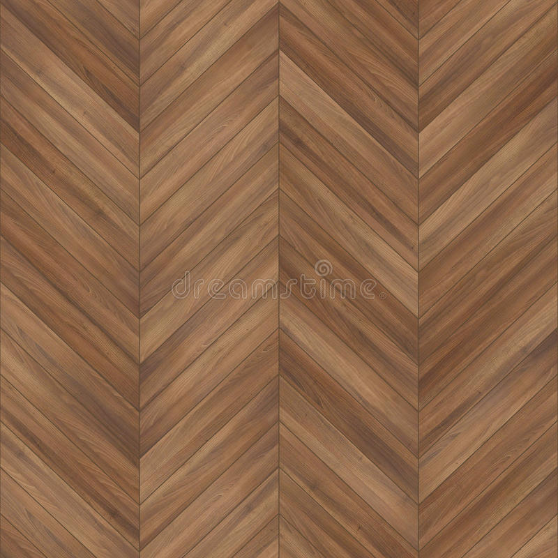 Brun en bois sans couture de chevron de texture de parquet photographie stock