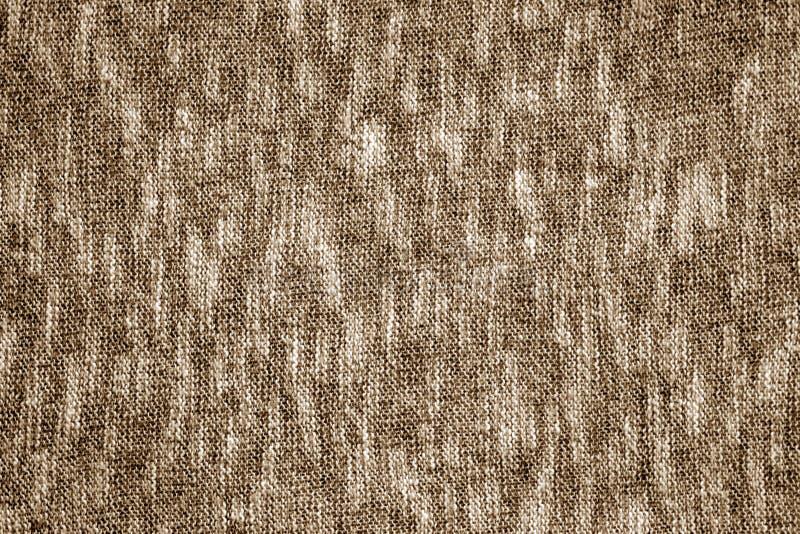 Brun färghandarbetetextur arkivbild