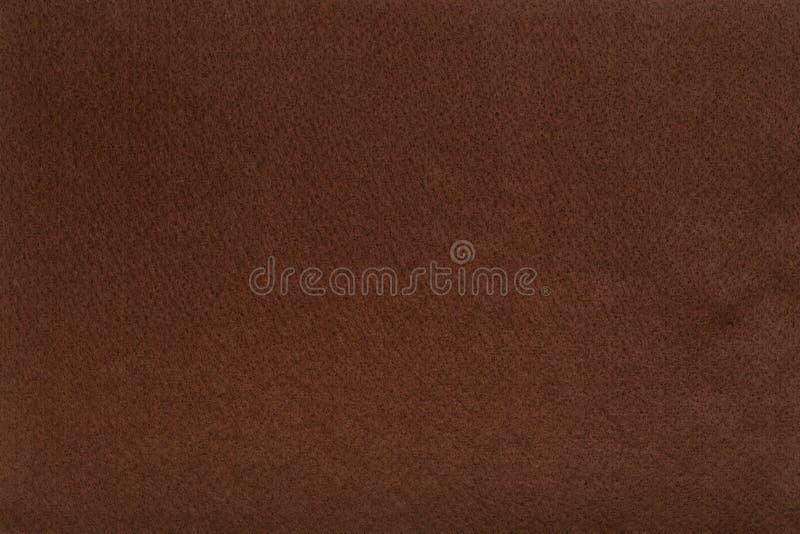 Brun filtsilkespappertorkduk, closeuptexturbakgrund arkivfoto