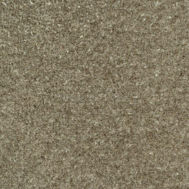 brun grå stucken tröjatexturull stock illustrationer