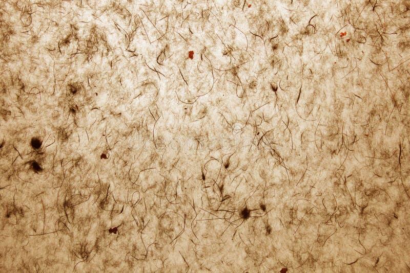 brun handgjord parchment royaltyfri bild