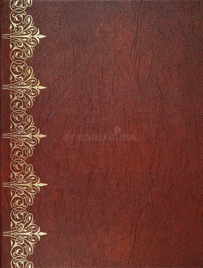 Brun läderräkning arkivfoto