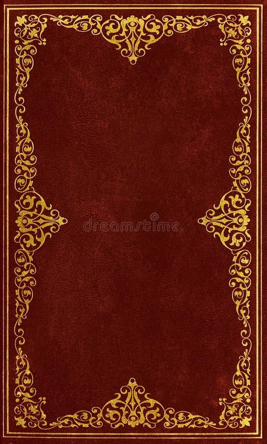 Brun läderräkning royaltyfria bilder