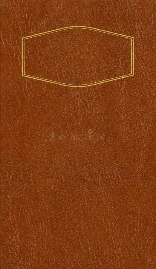 Brun läderräkning royaltyfria foton