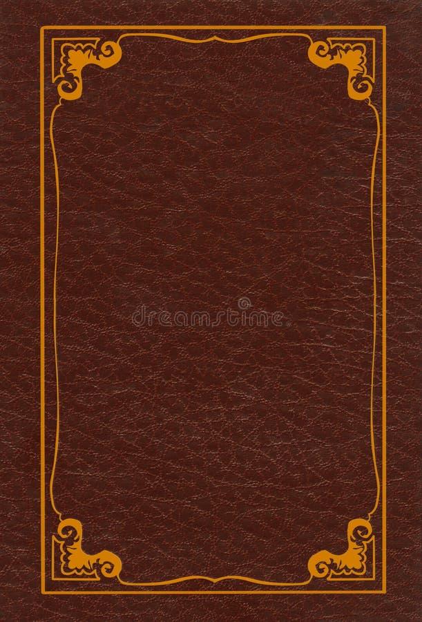 Brun läderräkning arkivbilder