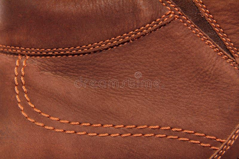brun lädersuede royaltyfri foto