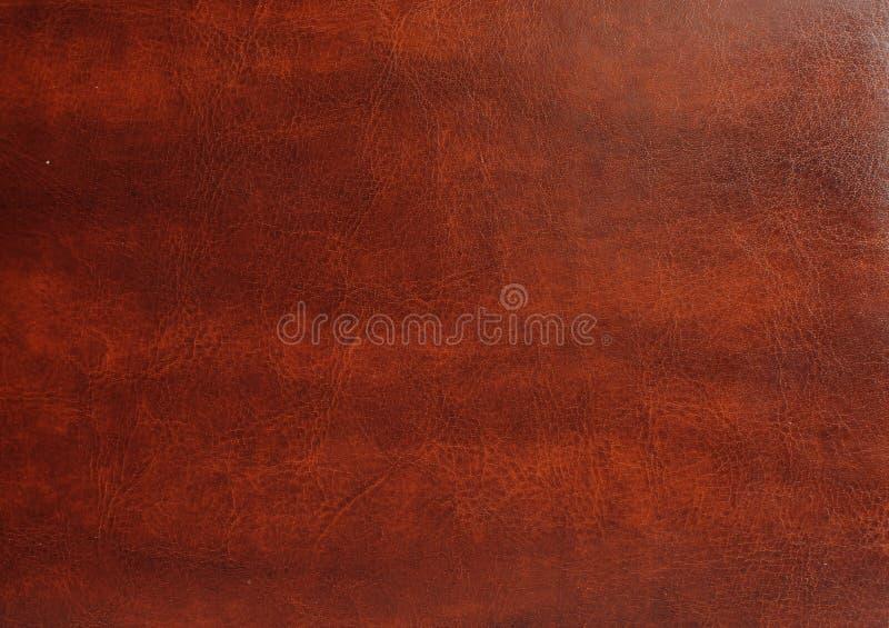 Brun lädertextur royaltyfria bilder