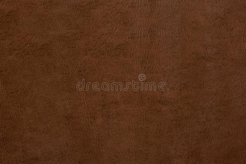 Brun lädertextur som bakgrund royaltyfri bild