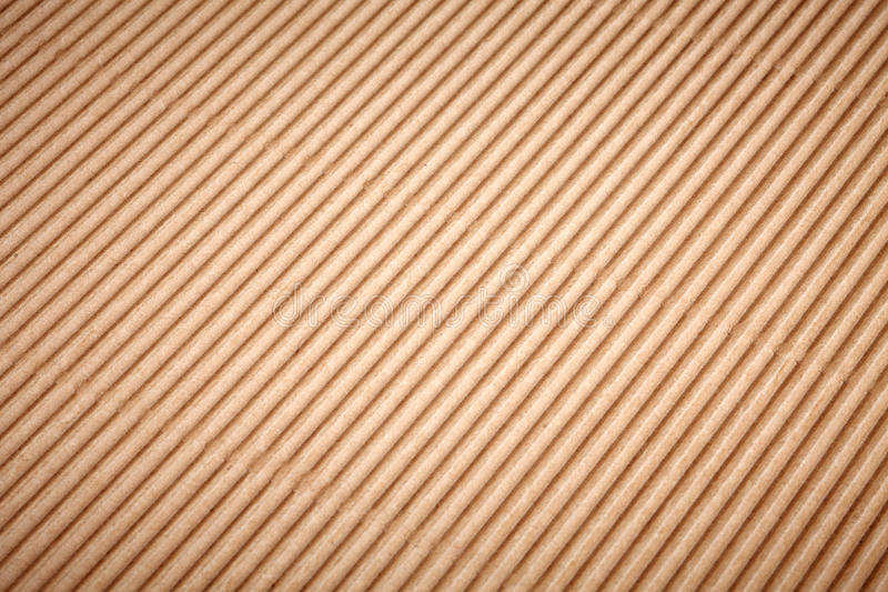 Brun lådapappersbakgrund stock illustrationer