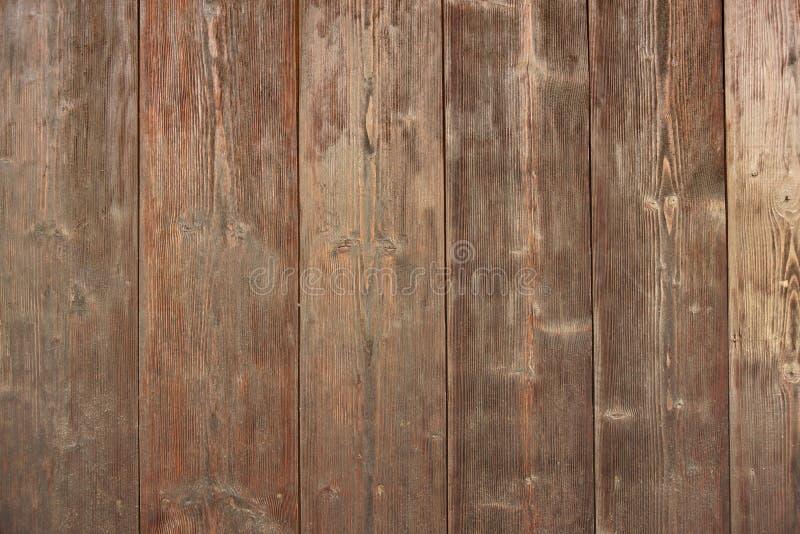 Brun ladugårdträbrädepanel för modern tappninghemdesign royaltyfria bilder